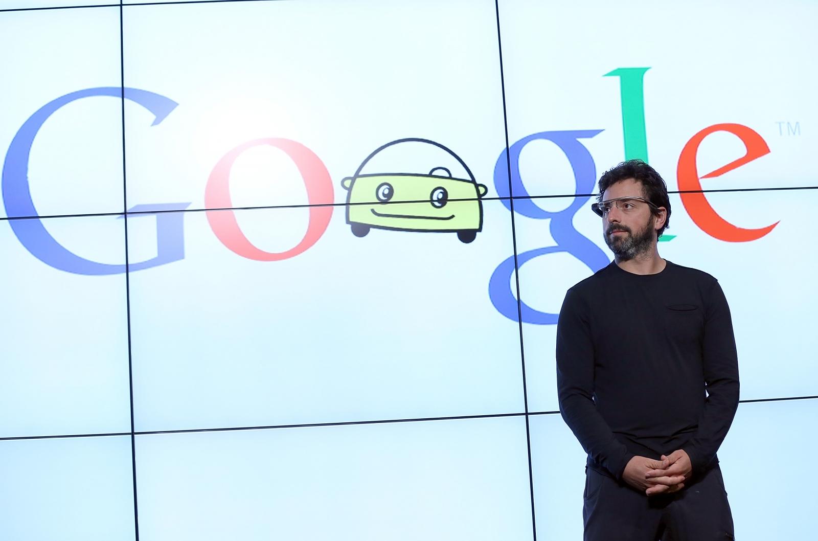 Sergey Brin building airship at NASA Ames Research Center