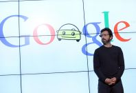 Sergey Brin building airship at NASA Ames Research Center