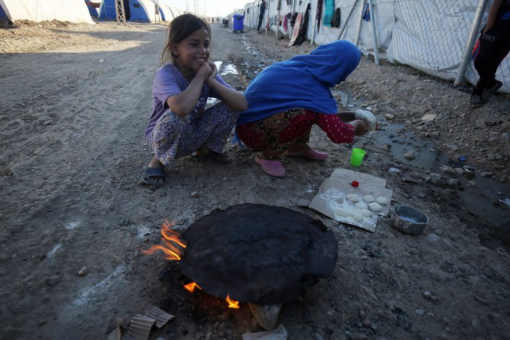 Hammam al-Alil camp