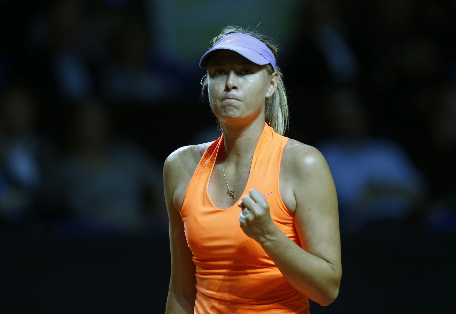 Maria Sharapova Victorious Over Vinci In Return From Drug Ban