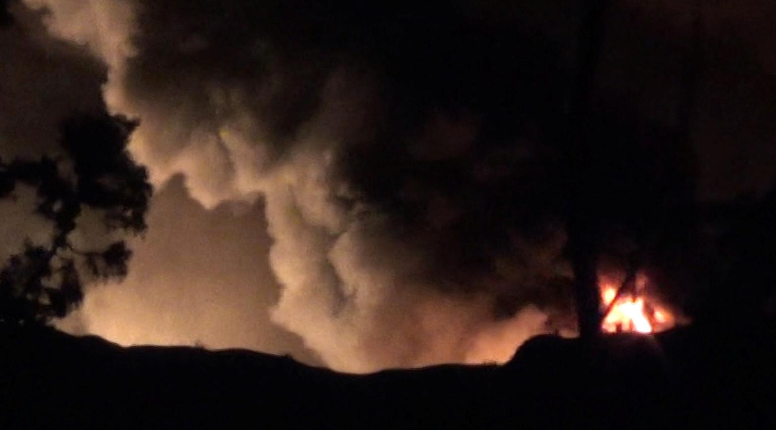 Syria Damascus airport blast