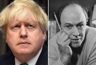 Boris Johnson, Roald Dahl