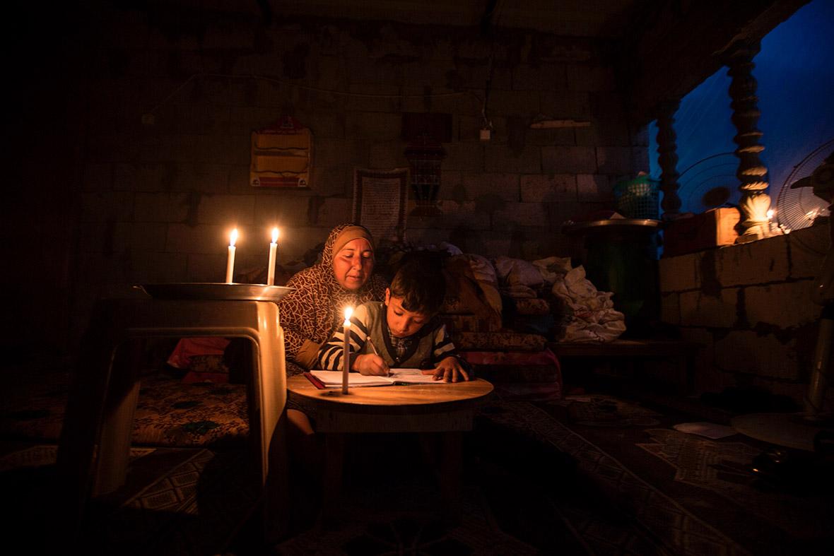 Gaza electricity