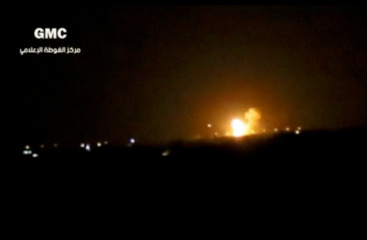 Damascus Israel strike