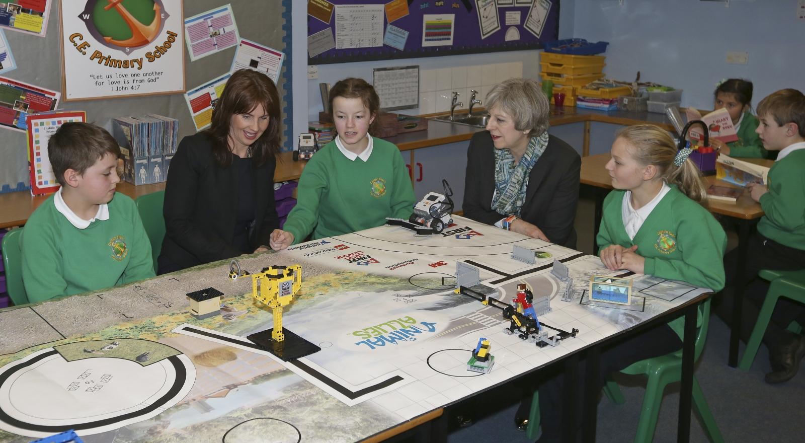 Theresa May school