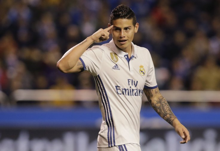 best website 4b0a8 37637 Bayern Munich clinch loan signing of Real Madrid's James ...
