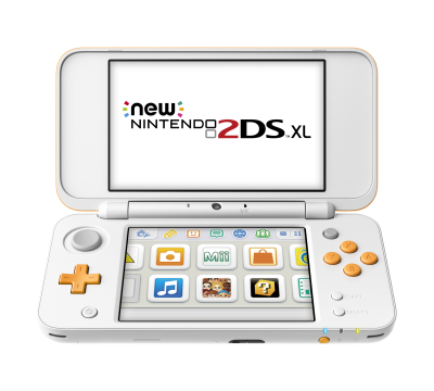 New Nintendo 2DS XL WhiteGold