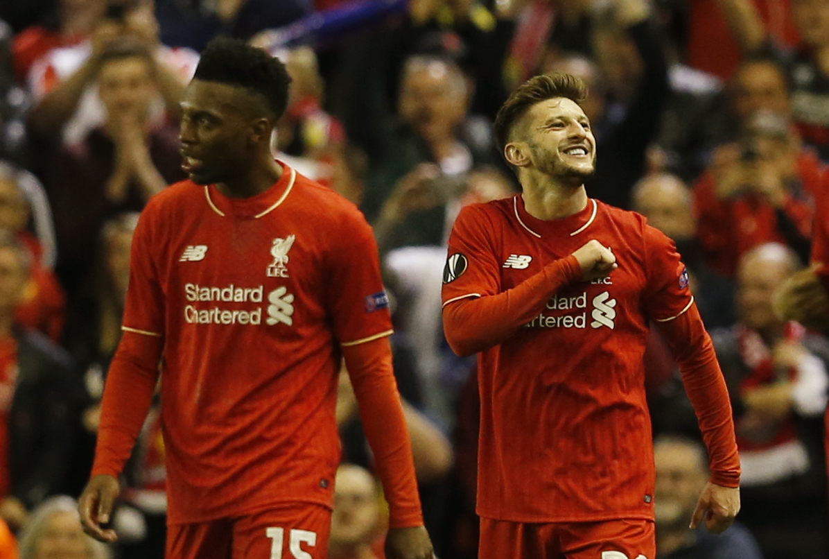 Daniel Sturridge and Adam Lallana