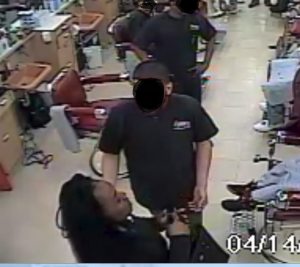 Ohio mother points gun at barber because her son's haircut