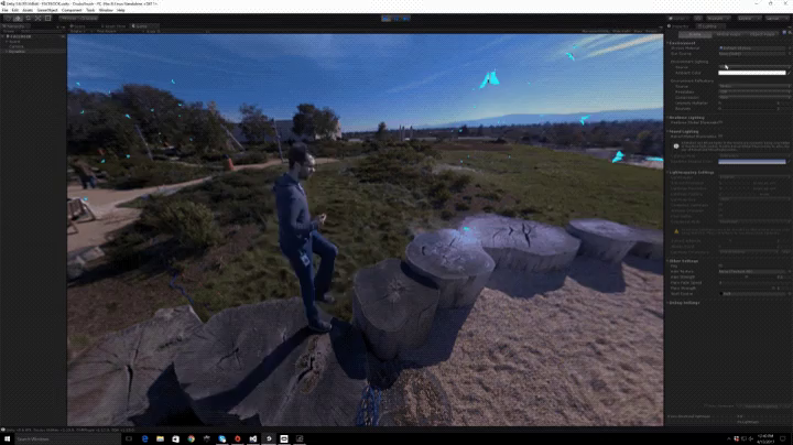 Facebook's Surround 360 camera demo at the F8 conference