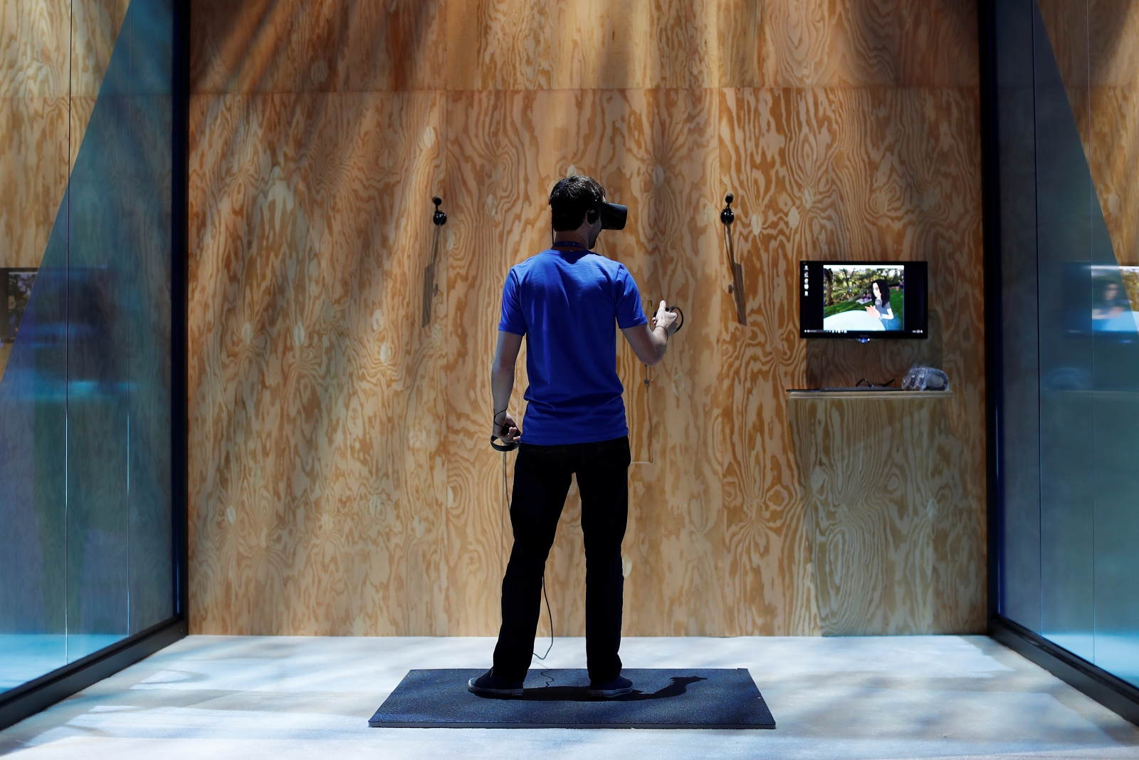 VR at Facebook's F8 conference