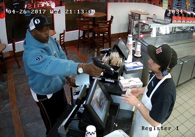 Jimmy Johns armed robbery