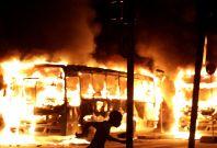 Brazil general strike riot