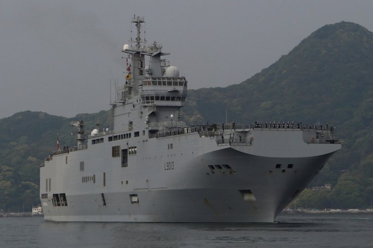 French amphibious assault ship