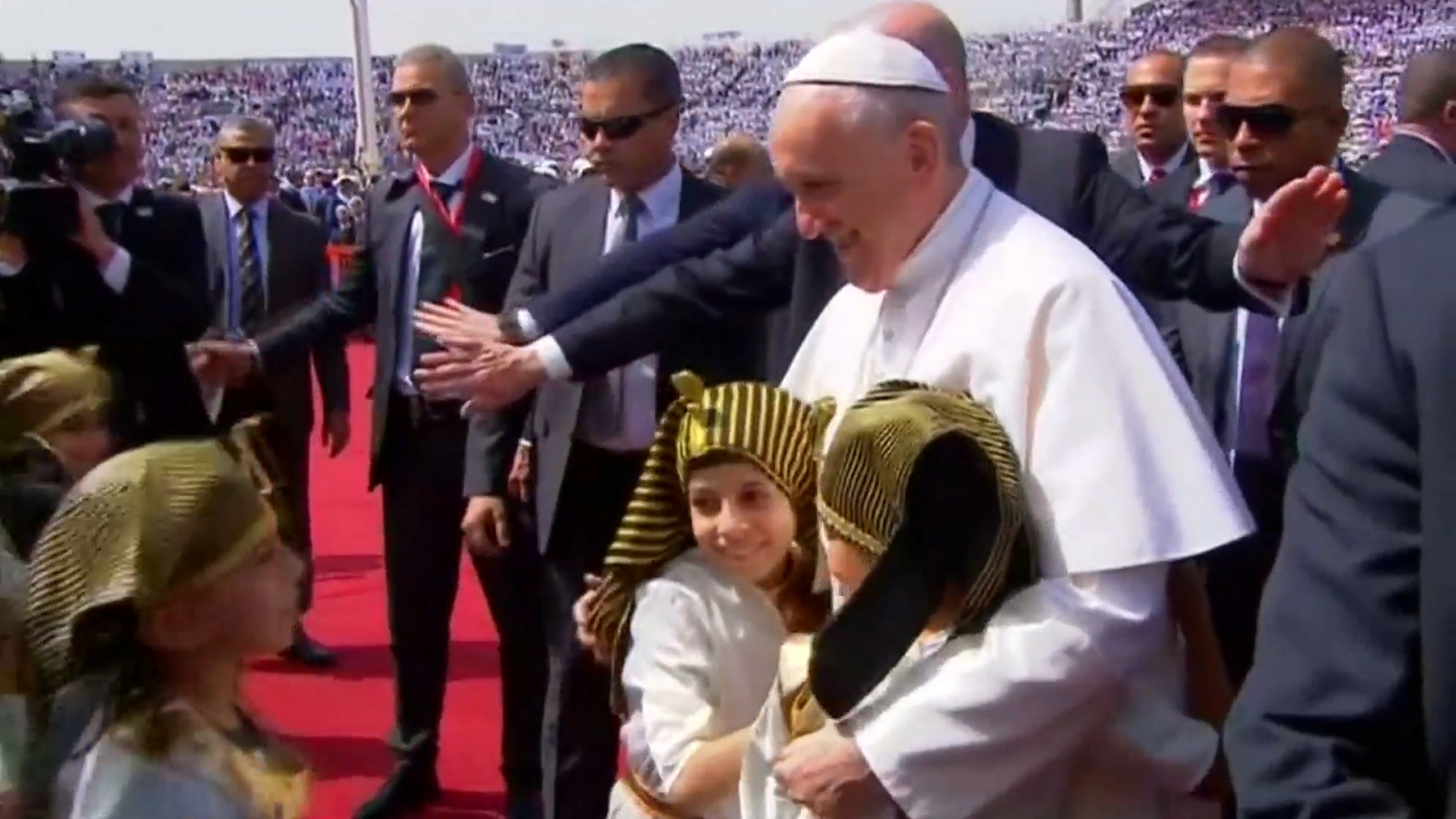 Pope Francis visits Egypt
