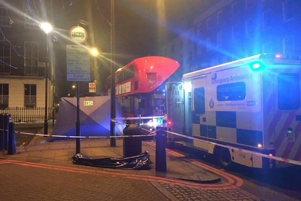 London bus murder