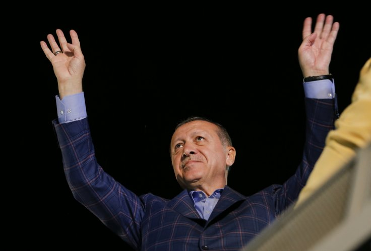 Turkish president purges military after failed coup