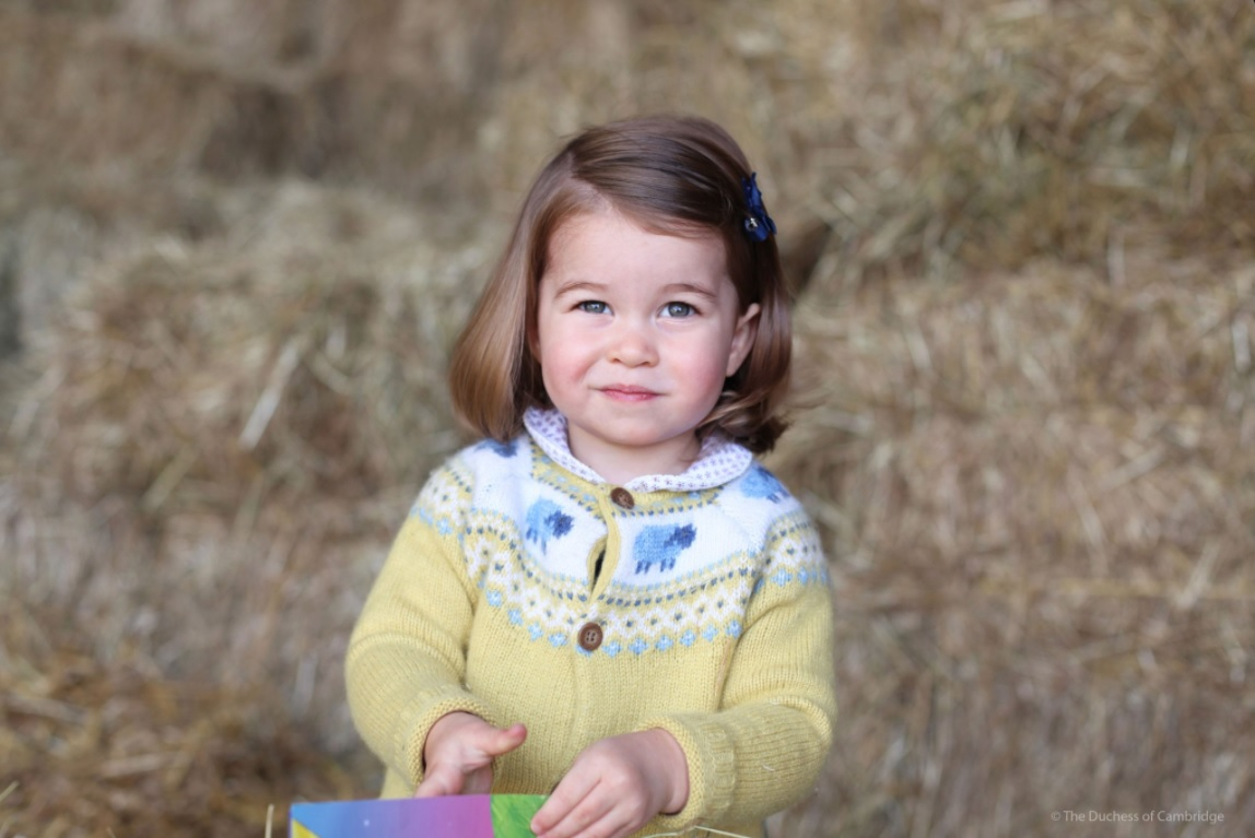 Princess Charlotte age 2 second birthday 2017