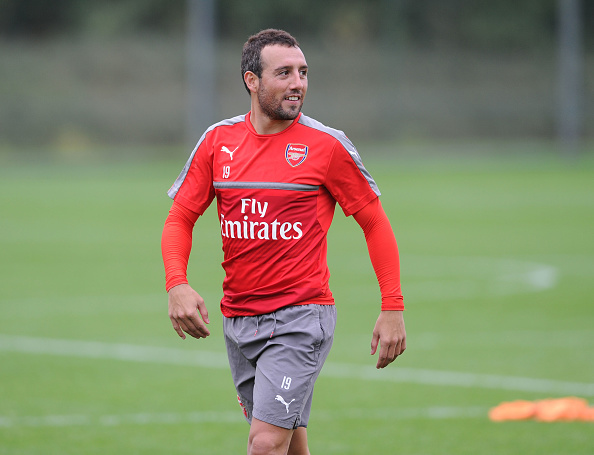 Arsenal's Santi Cazorla 'still five months away from return'