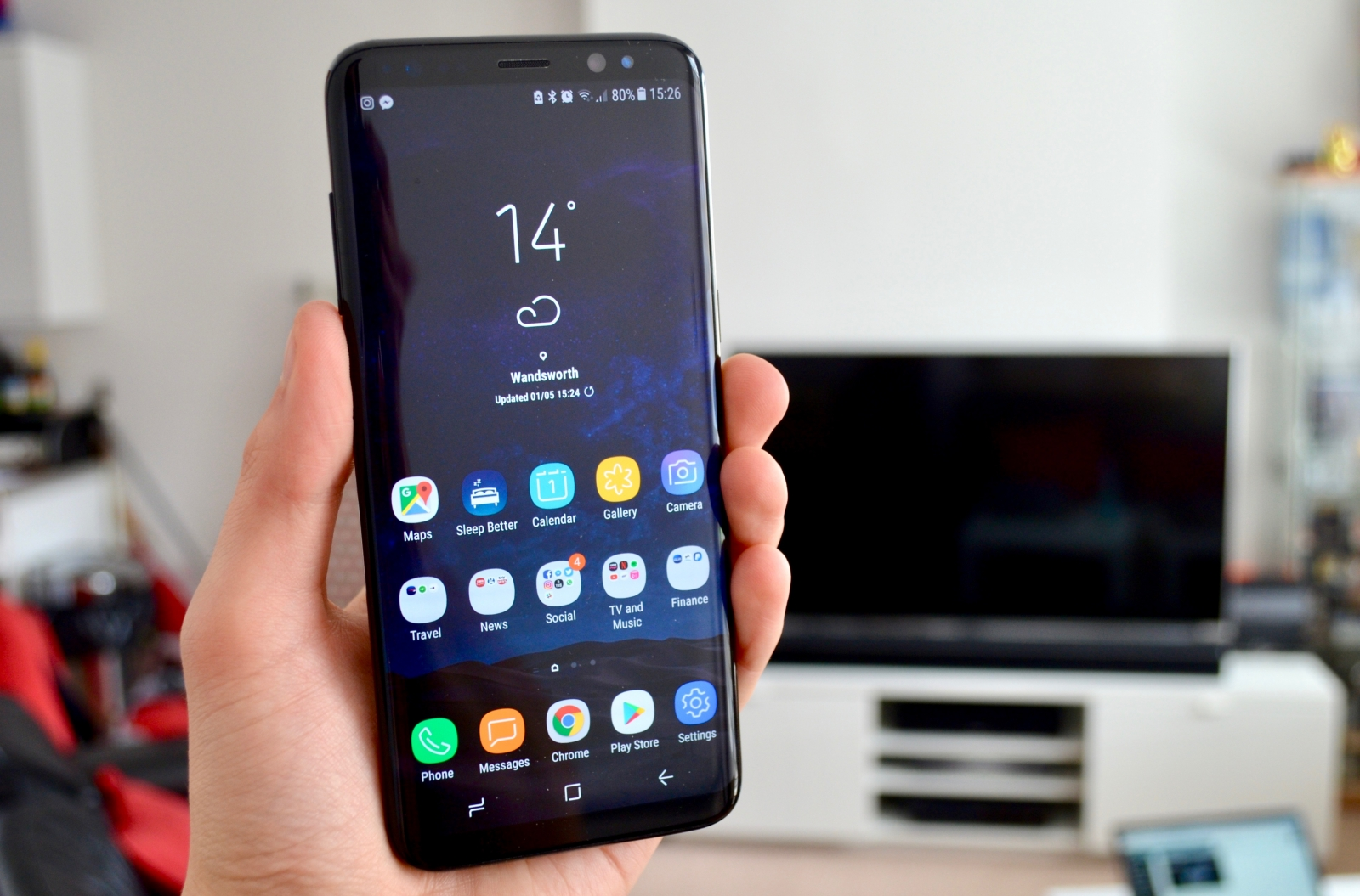 galaxy s8 plus review uk