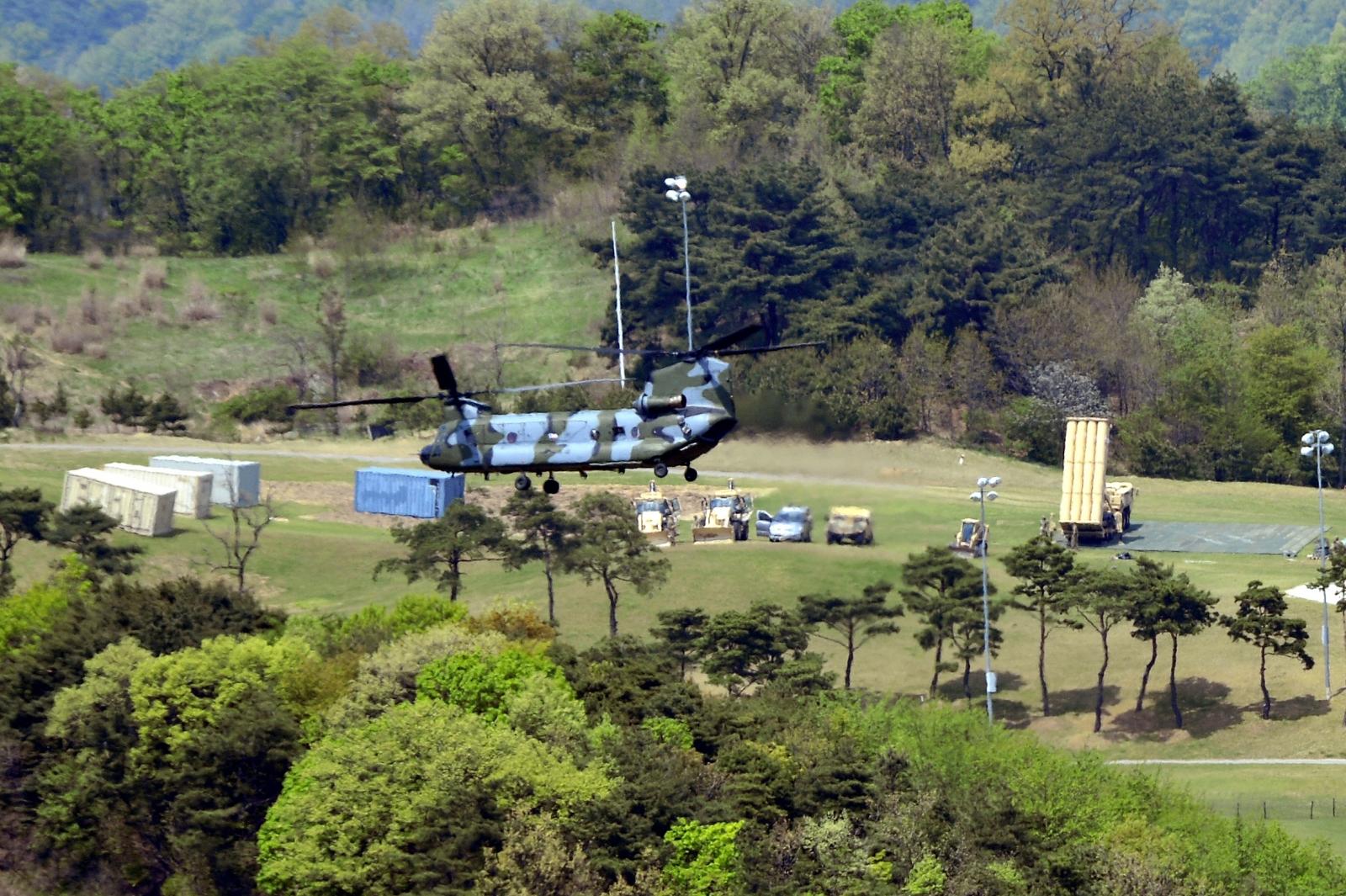 Thaad deployment south korea