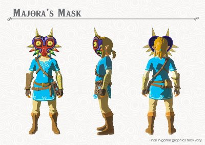 Breath of the Wild Majoras Mask