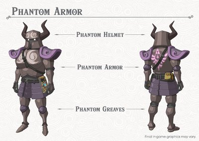 Breath of the Wild Phantom Armour