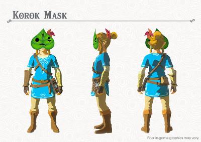 Breath of the Wild Korok Mask