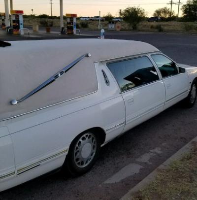 Hearse casket marijuana