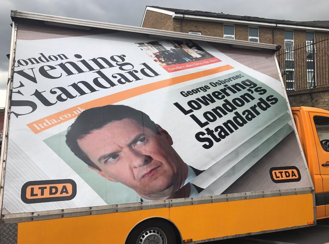 LTDA's billboard