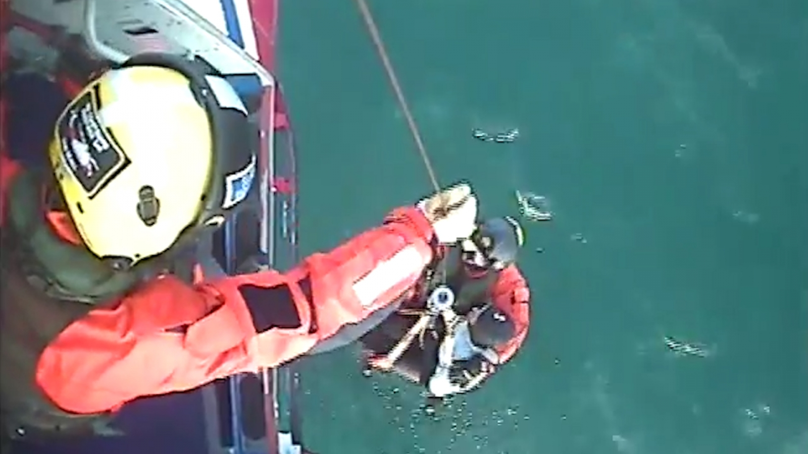 rescue of surfer after 30 hours at sea