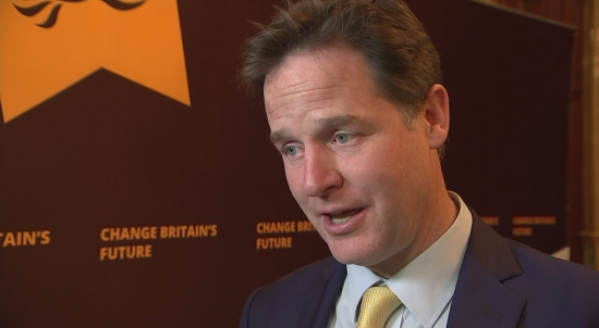 Nick Clegg PM treating EU leaders like subordinates