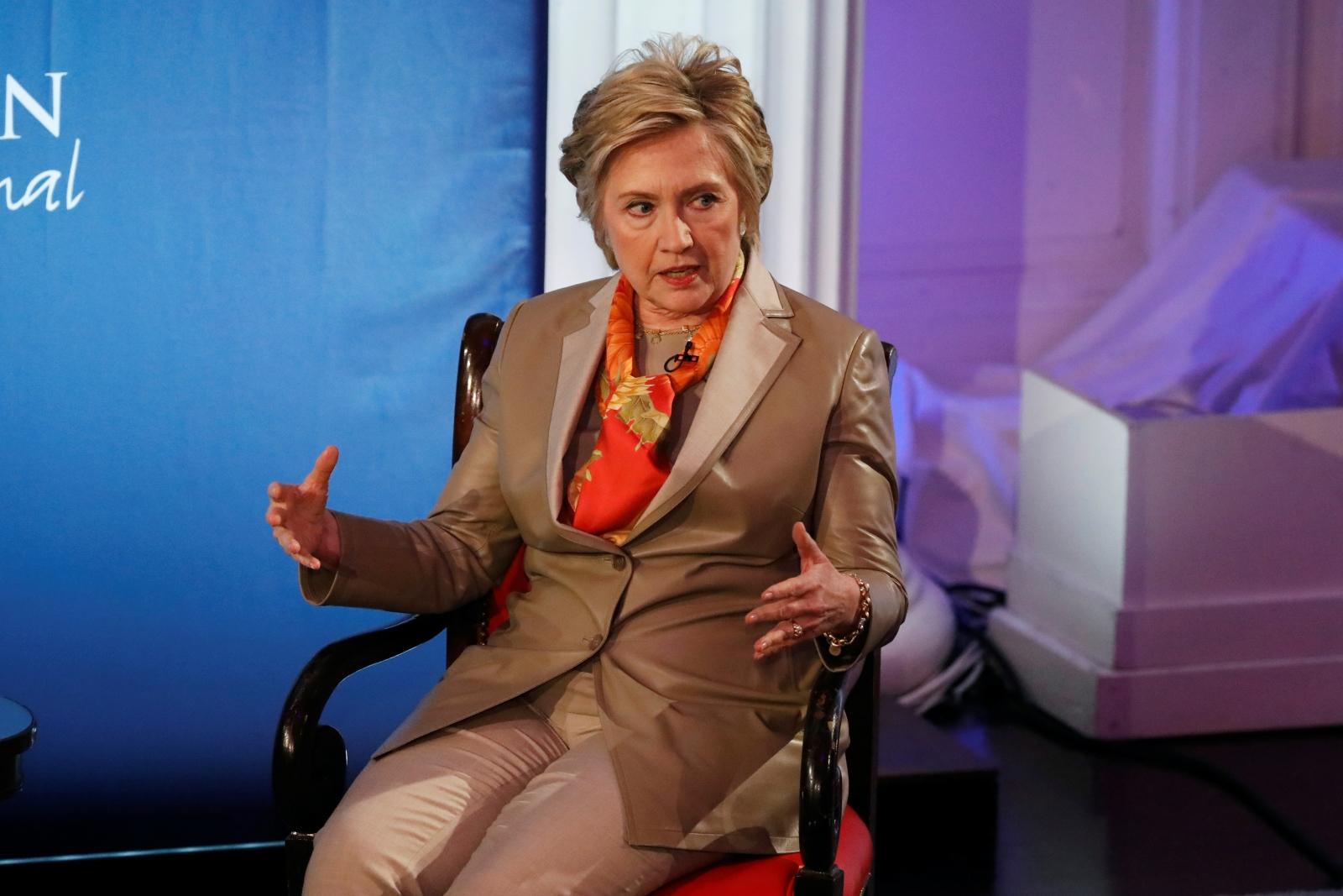 Hillary Clinton at Women for Women forum