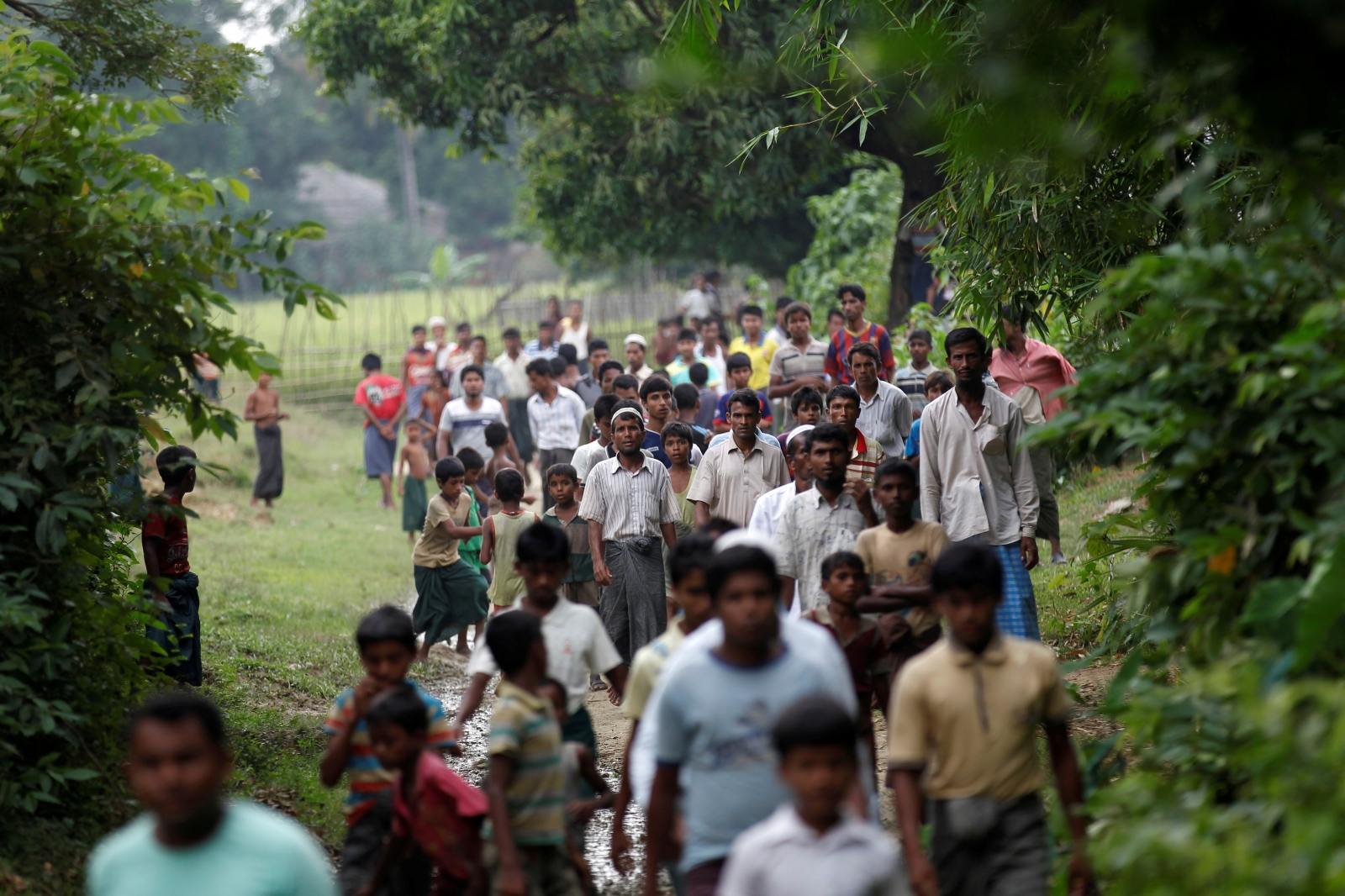 Myanmar Rohingyas rights abuse