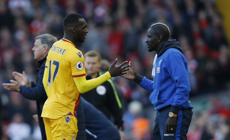 Christian Benteke and Mamadou Sakho