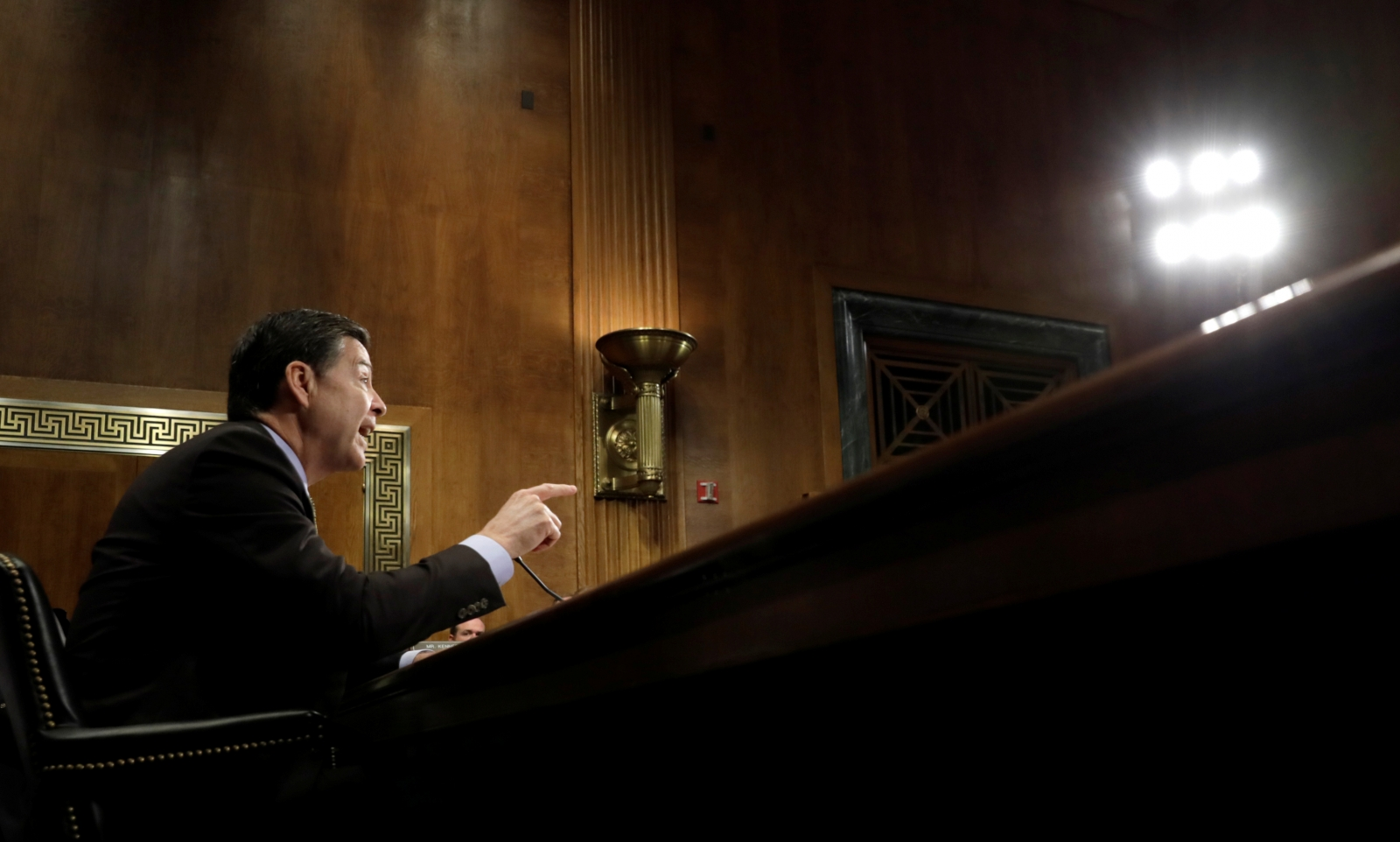 James Comey testifies at Senate Judiciary Committee
