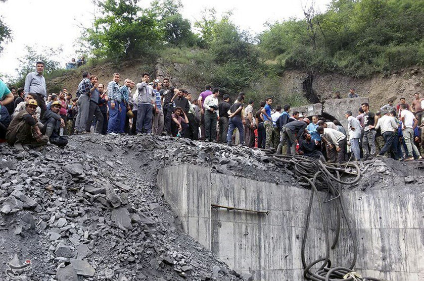 Iran coal mine explostion