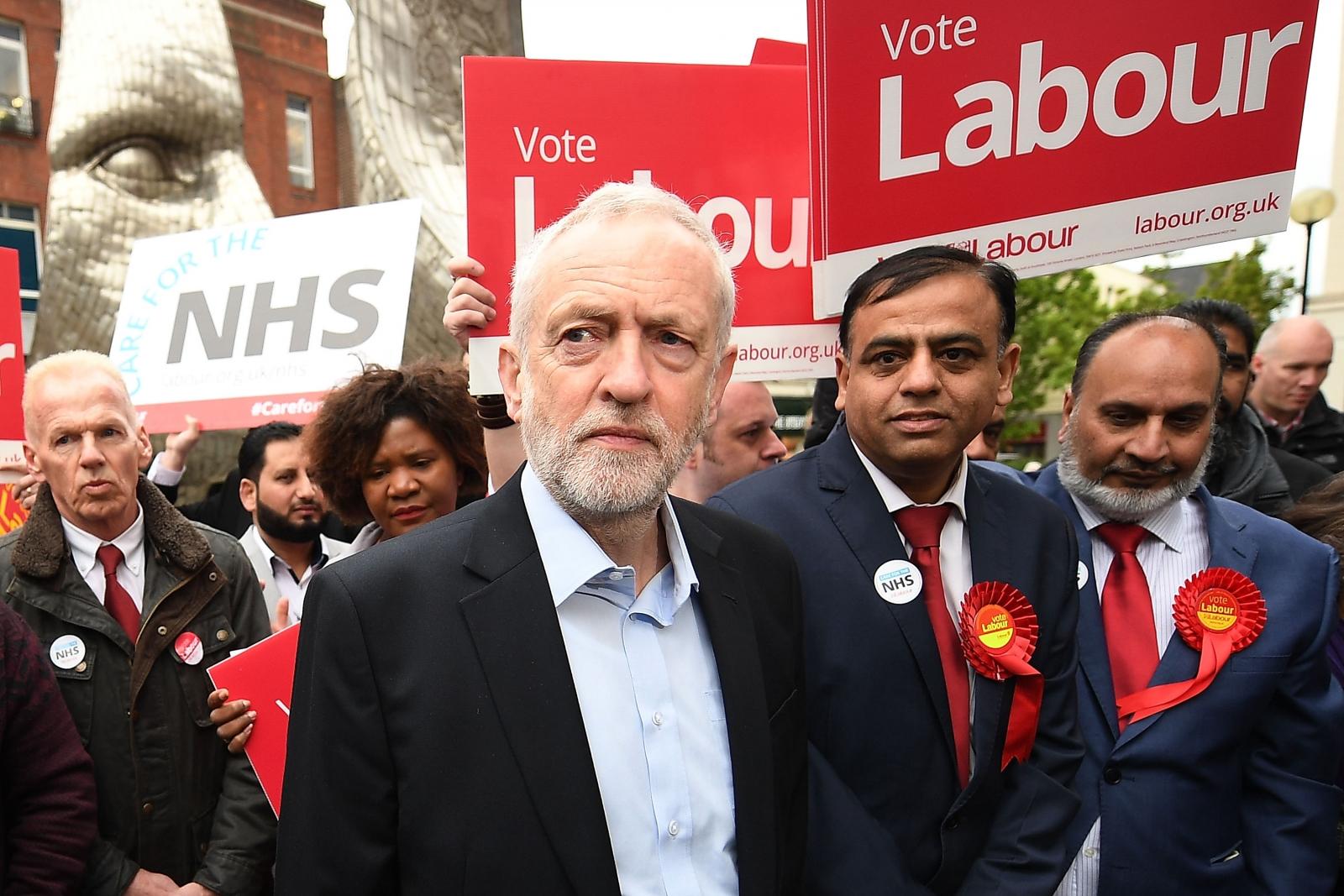 Jeremy Corbyn in Bedford