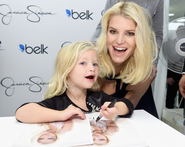 Jessica Simpson fans furious over her daughter's 'inappropriate