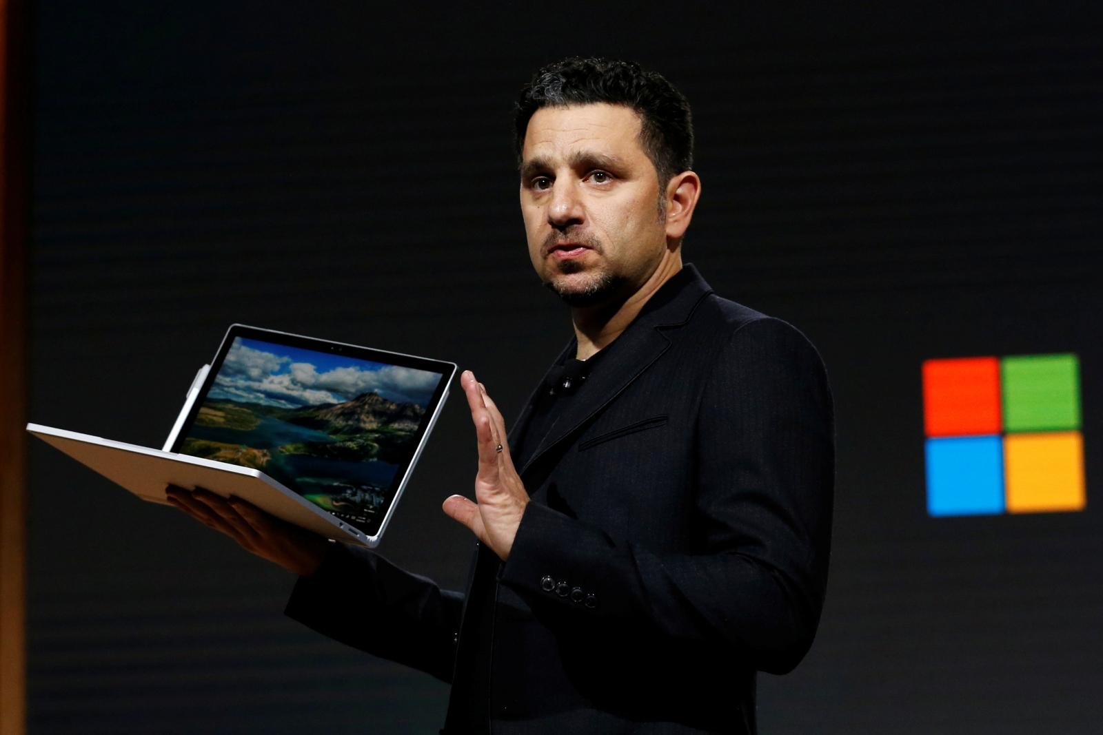 Surface Laptop Panos Panay
