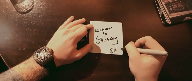 Galway Girl music video
