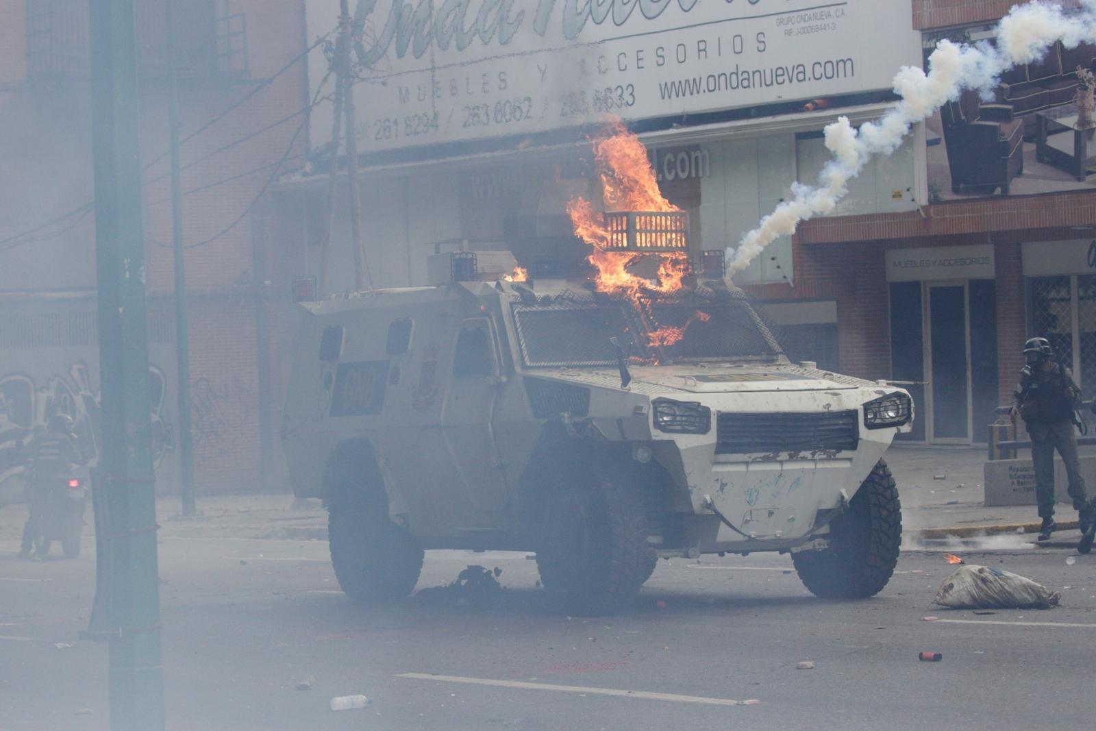 Venezuela clashes