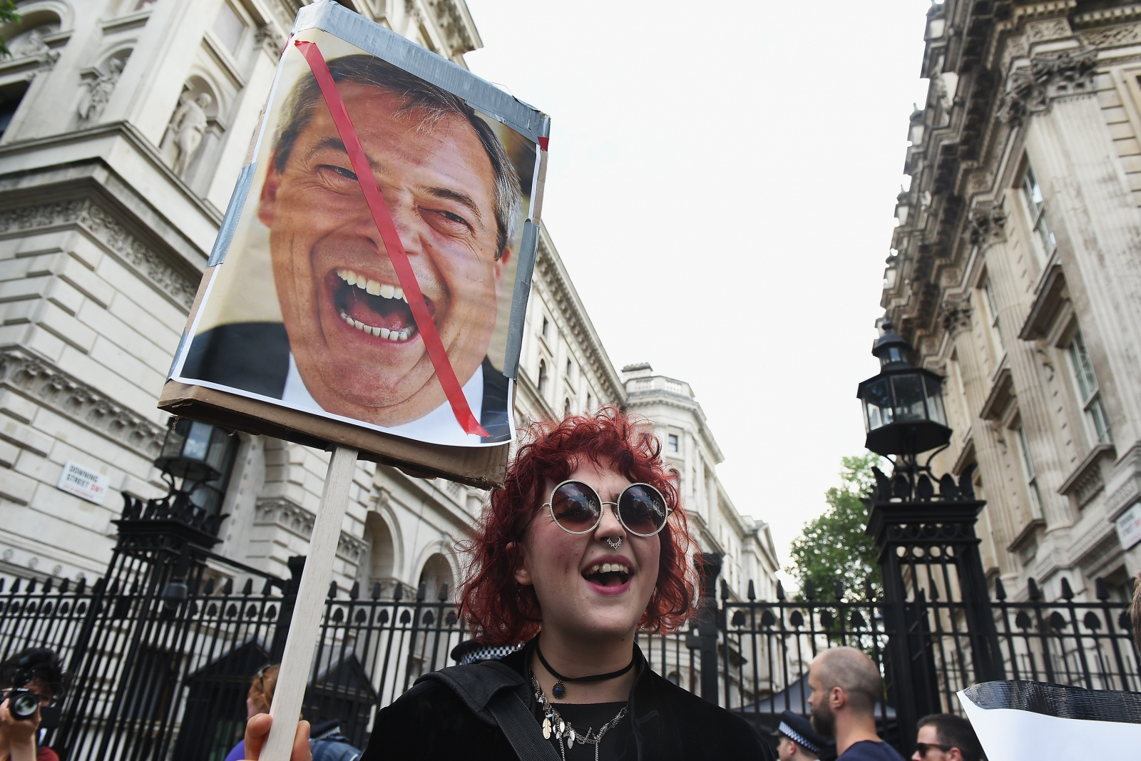 Downing Street Farage young voters