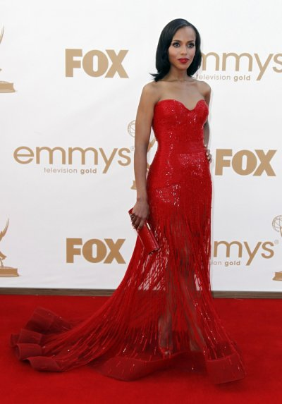 Emmy Awards 2011 Stunning Celebrities in Ravishing Red.