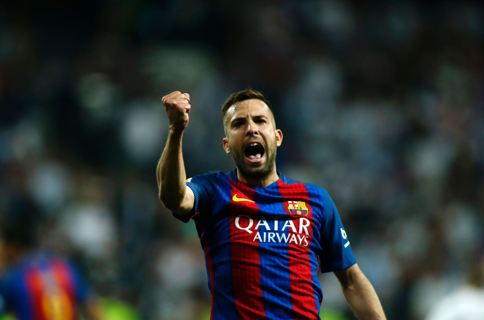 talks amid Barcelona over plans  Alba reiterates his Jordi