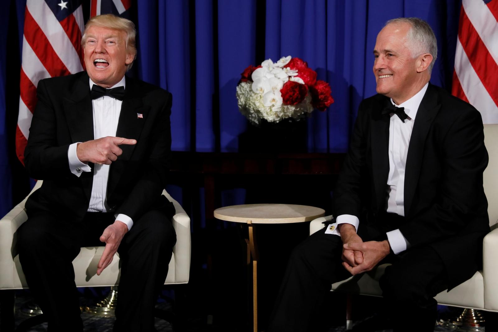 Trump and Turnbull