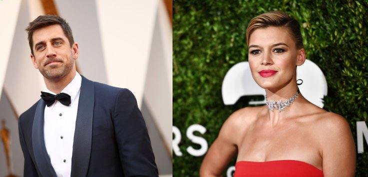 Aaron Rodgers and Kelly Rohrbach
