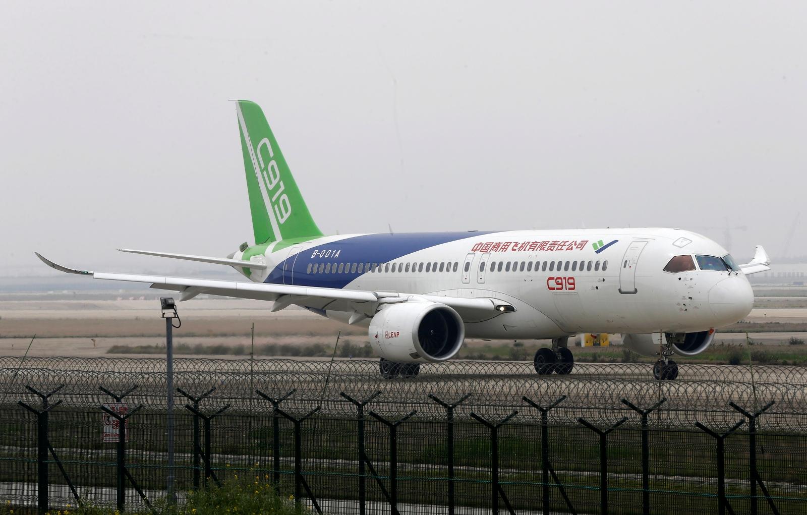 homegrown large passenger plane - HD1600×1021