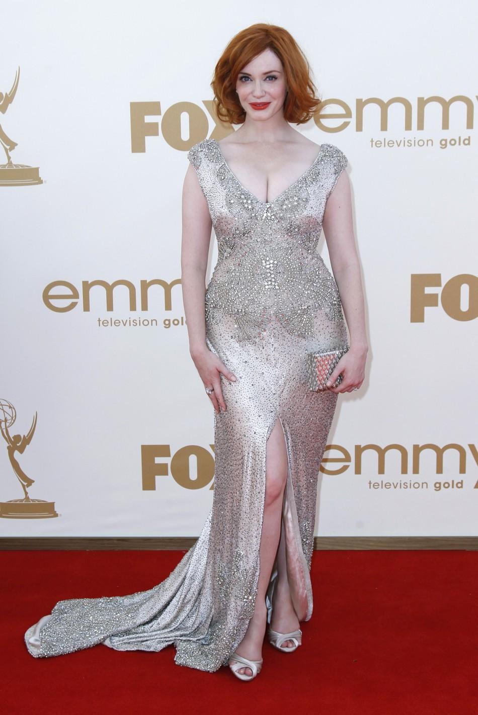 Actress Christina Hendricks