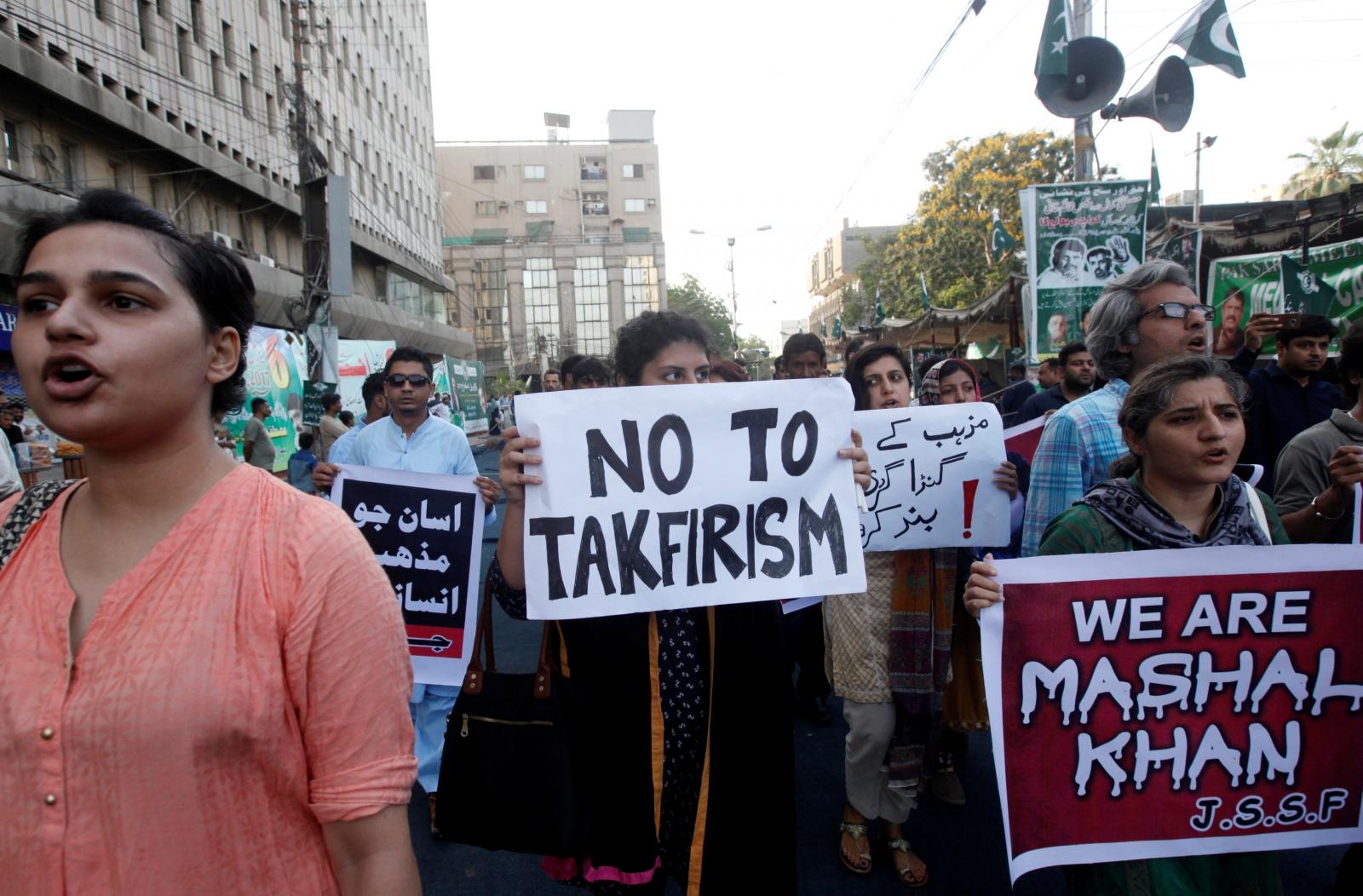 Pakistan blasphemy mob lynching